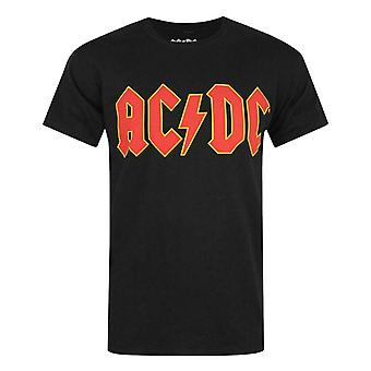 AC/DC Comics Logo Men's T-Shirt