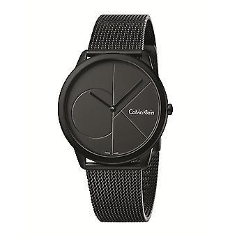 Calvin Klein Minimal Black Men's Watch K3M514B1