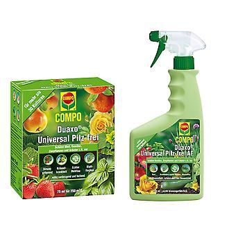 Oleanderhof® COMPO Duaxo® Universal Pilz-frei Set, 2-teilig