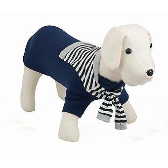 Nayeco marinblå Jersey Sotavento (hundar, hundkläder, tröjor och hoodies)