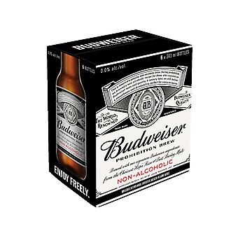 Budweiser Prohibition Brew-( 341 Ml X 6 Cans )
