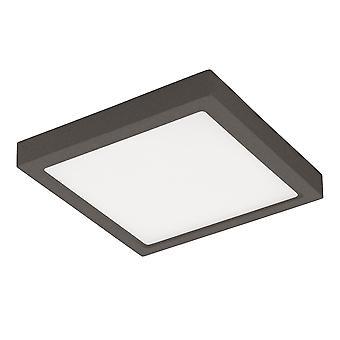 Eglo Argolis-C - LED Outdoor Flush Ceiling Light Anthracite IP44 - EG98174