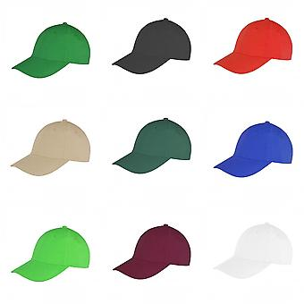 Result Unisex Core Memphis 6 Panel Baseball Cap (Pack of 2)