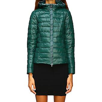 Patrizia Pepe 8s0246a503g464 Women's Green Polyester Down Jacket