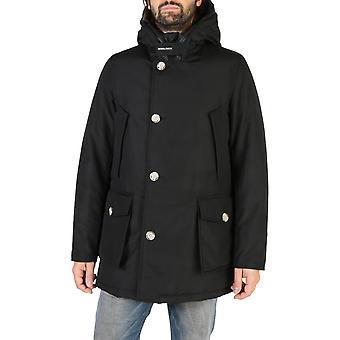Woolrich Original Men Fall/Winter Jacket - Black Color 38143