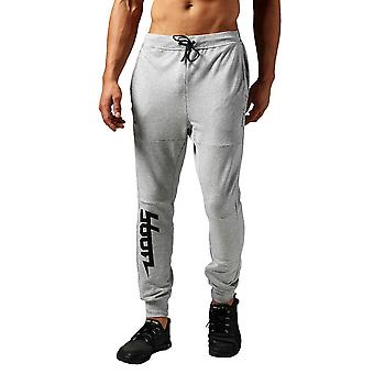 Reebok Workout Cotton Graphic AY2251 universal all year men trousers