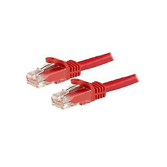 Startech 15 M Red Snagless Cat6 Utp Patch Cable