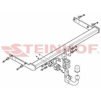 Steinhof Automatic Detachable Towbar (Vertical) for Skoda SUPERB 2015 Onwards