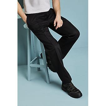 SIMON JERSEY Men's Essential Workwear Trouser, Black