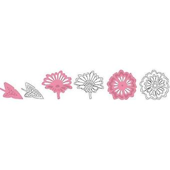 Marianne Design Collectables Cutting Dies - Flowers And Leaf COL1304
