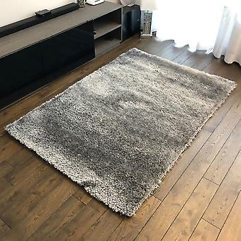 Roma Teppich grau/Silber