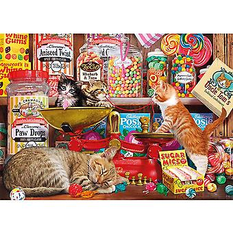 Gibsons 1000 Piece Paw Drops & Sugar Mice Jigsaw Puzzle