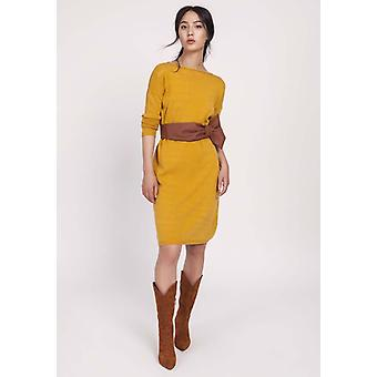 Yellow lanti dresses