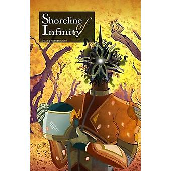 Shoreline of Infinity 5 Science Fiction Magazine by Chidwick & Noel