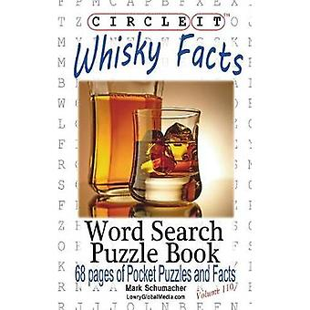 Circle It Whisky Facts Whiskey Word Search Puzzle Book by Lowry Global Media LLC
