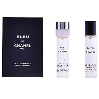 Chanel Bleu EDP spray vullingen 3 X 20 ml voor mannen