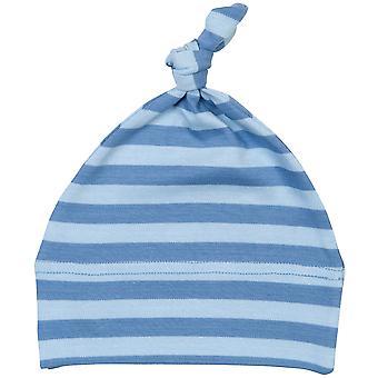 Babybugz Unisex Baby stribet 1 knude Hat