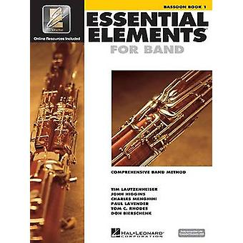 Essential Elements for Band - Bassoon Book 1 with Eei by Hal Leonard