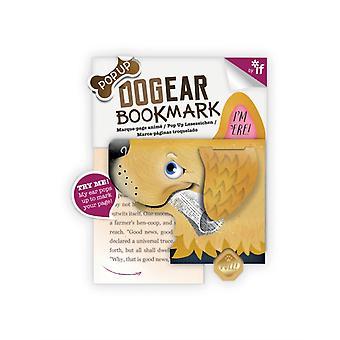 Dog Ear Bookmarks Fetch Golden Retrieve