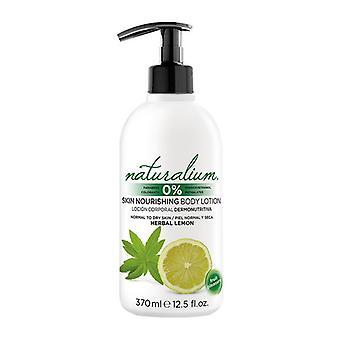 Body Lotion Herbal Lemon Naturalium (370 ml)