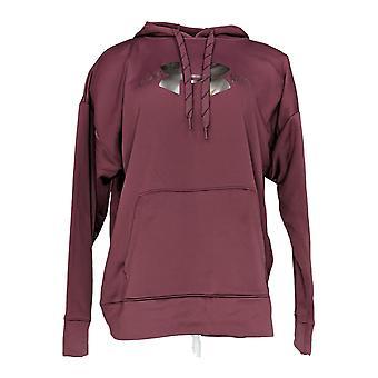 Under Armour Women's Cold Gear Logo Hoodie w/Kangaroo Pocket Purple