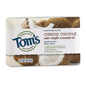 Tom's of maine natural beauty bar, coconut beauty, 5 oz