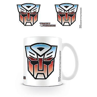 Transformatoren G1 Autobot Symbol Becher