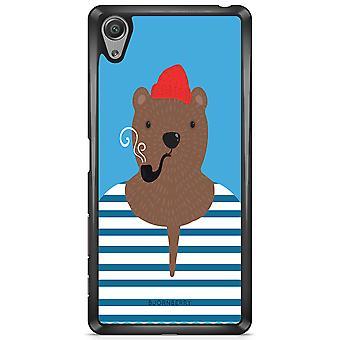 Bjornberry Shell Sony Xperia X - Hipster Bear