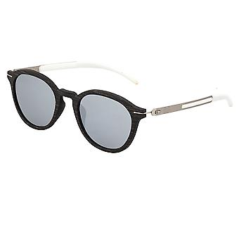 Earth Wood Sabal Polarized Sunglasses - Ebony/Silver