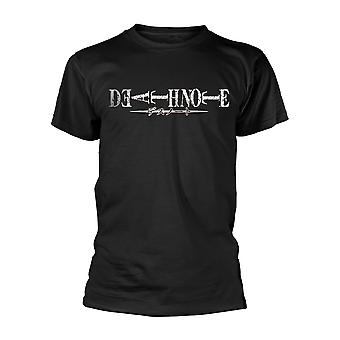 Death Note Logo Official Tee T-Shirt Męski Unisex