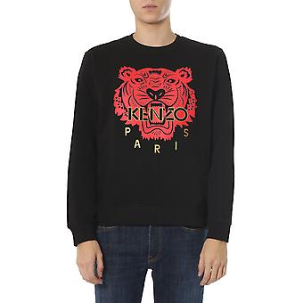 Kenzo Fa55sw1264z599 Men's Black Cotton Sweatshirt