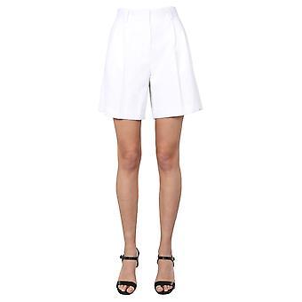 Ps By Paul Smith W2r156ta3055502 Women's White Cotton Shorts