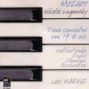 W.a. Mozart - Mozart: Piano Concertos Nos. 19 & 20 [CD] USA import