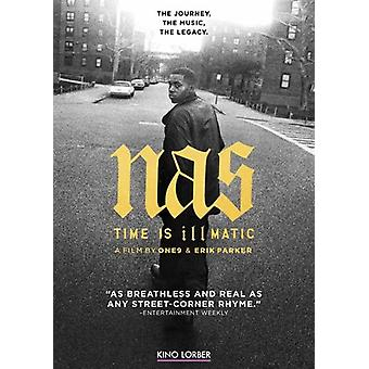 Nas: Time Is Illmatic [DVD] USA import