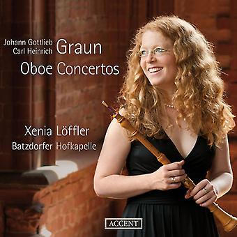 JG Graun s. - Oboe konsertot [CD] USA tuonti