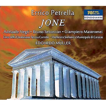 Petrella / Negri / Muller - Jone [CD] USA import