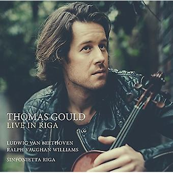 Thomas Gould - Live in Riga [CD] USA import