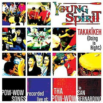 Young Spirit - Takakikeh (Doing It Right) [CD] USA import