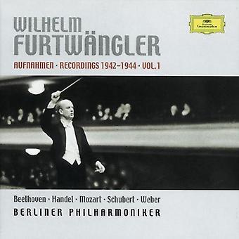 Wilhelm Furtwangler - Recordings 1942-1944, Vol. 1 [CD] USA import