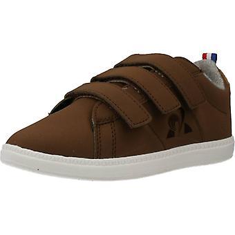 Le Coq Sportif Courtclassic Ps Hiver Color Brown Shoes