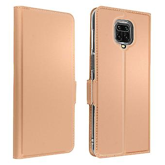 Xiaomi Redmi Note 9S/9 Pro/9 Pro Max Folio Case with Wallet Function - Pink