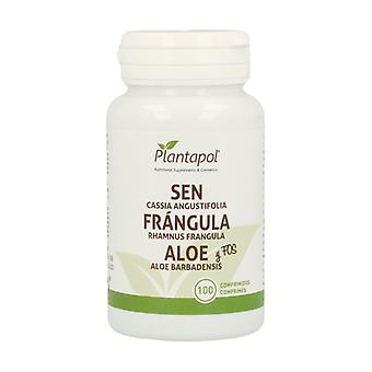 Aloe, Sen, Frangula, Inulin 100 tablets