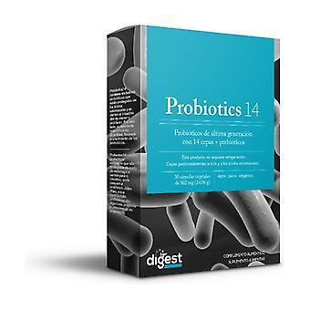 Probiotics 14 30 vegetable capsules
