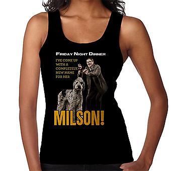 Friday Night Dinner Naming Milson Women's Vest