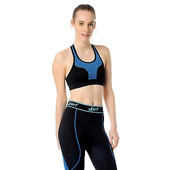 Jerf Womens Prado Blue Sports Bra