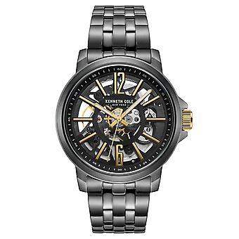 Kenneth Cole New York Herren Uhr Armbanduhr Edelstahl KC50779012