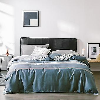 Four Seasons Ab Version Printing Zipper Comforter Duvet Cover - Soft Breathable