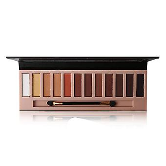 Eyeshadow Makeup Palette Pigmented Long Lasting Natural Eyes Cosmetics With