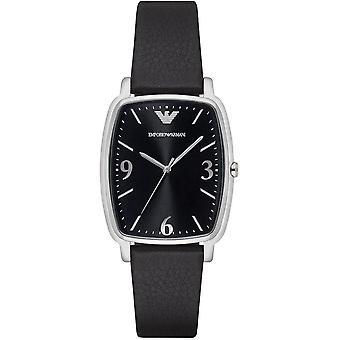 Emporio Armani AR2490 Armani Retro Zwarte Wijzerplaat Jurk Ladie's Horloge