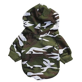 Security Warm Clothes Hoodie Coat For Chihuahua French Bulldog Small Dog